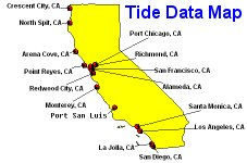 Tide Data Map